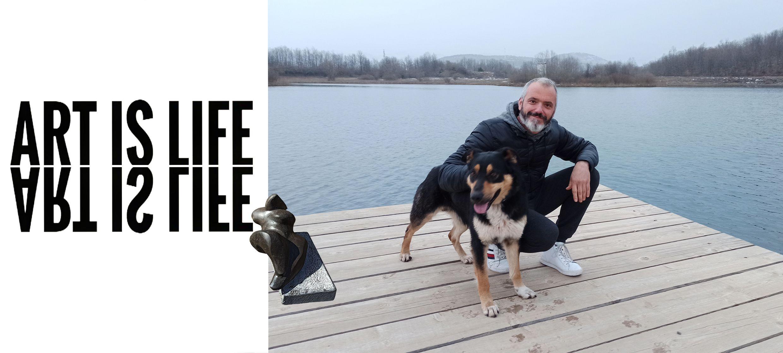 Petar Hranuelli: Umjetnik koji je zagrebačku karantenu odlučio zamijeniti ličkim ateljeom
