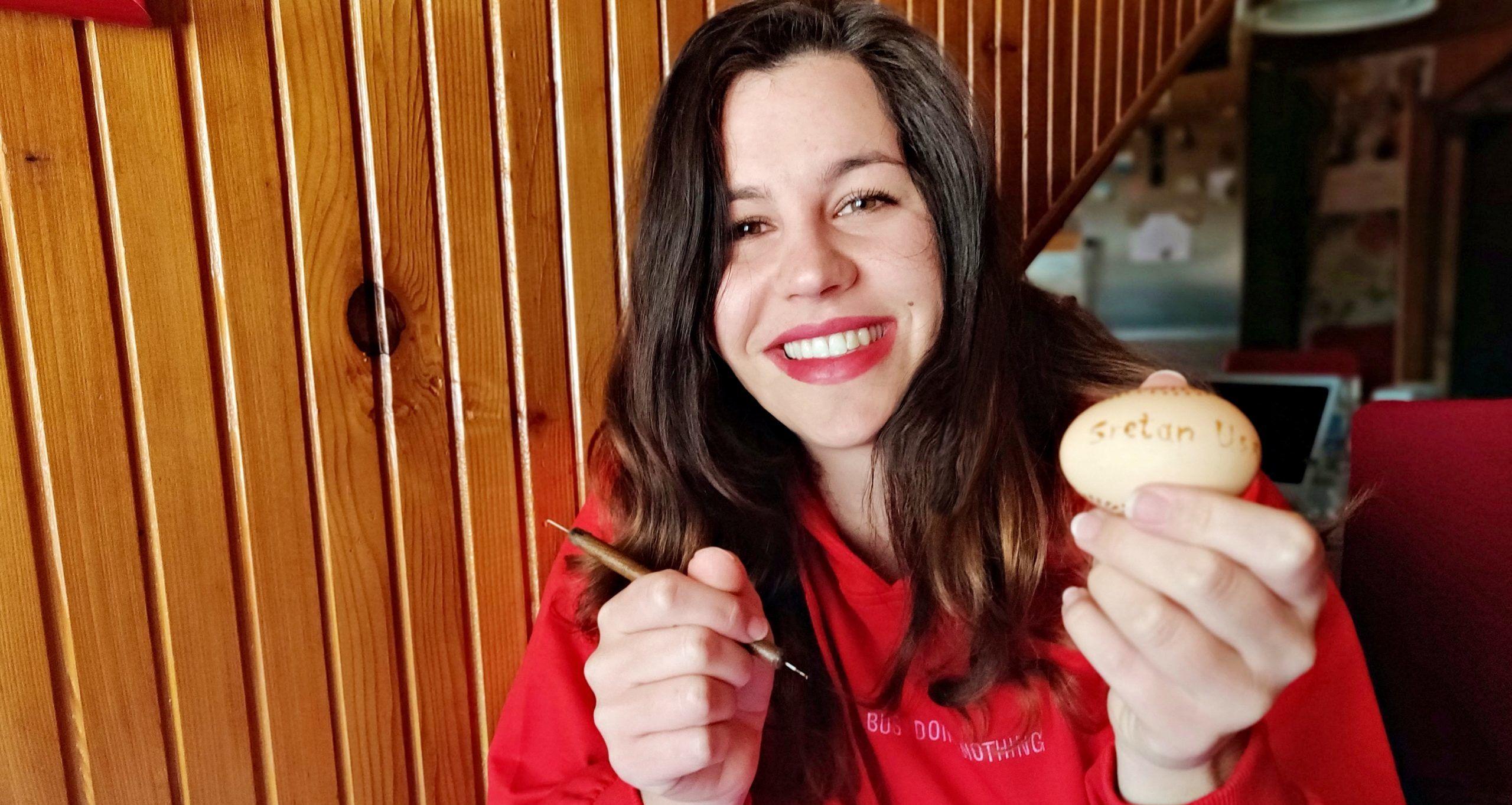 Ane Čerjan: Tradicionalno dubrovačko 'penganje' jaja dobilo je zagrebačku notu