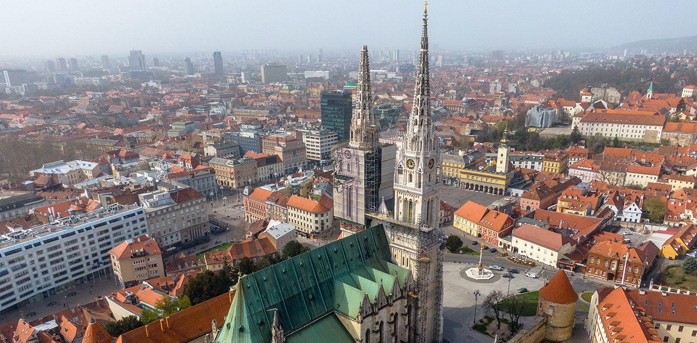Zagreb From Above: Zagreb iz sasvim drugačije perspektive