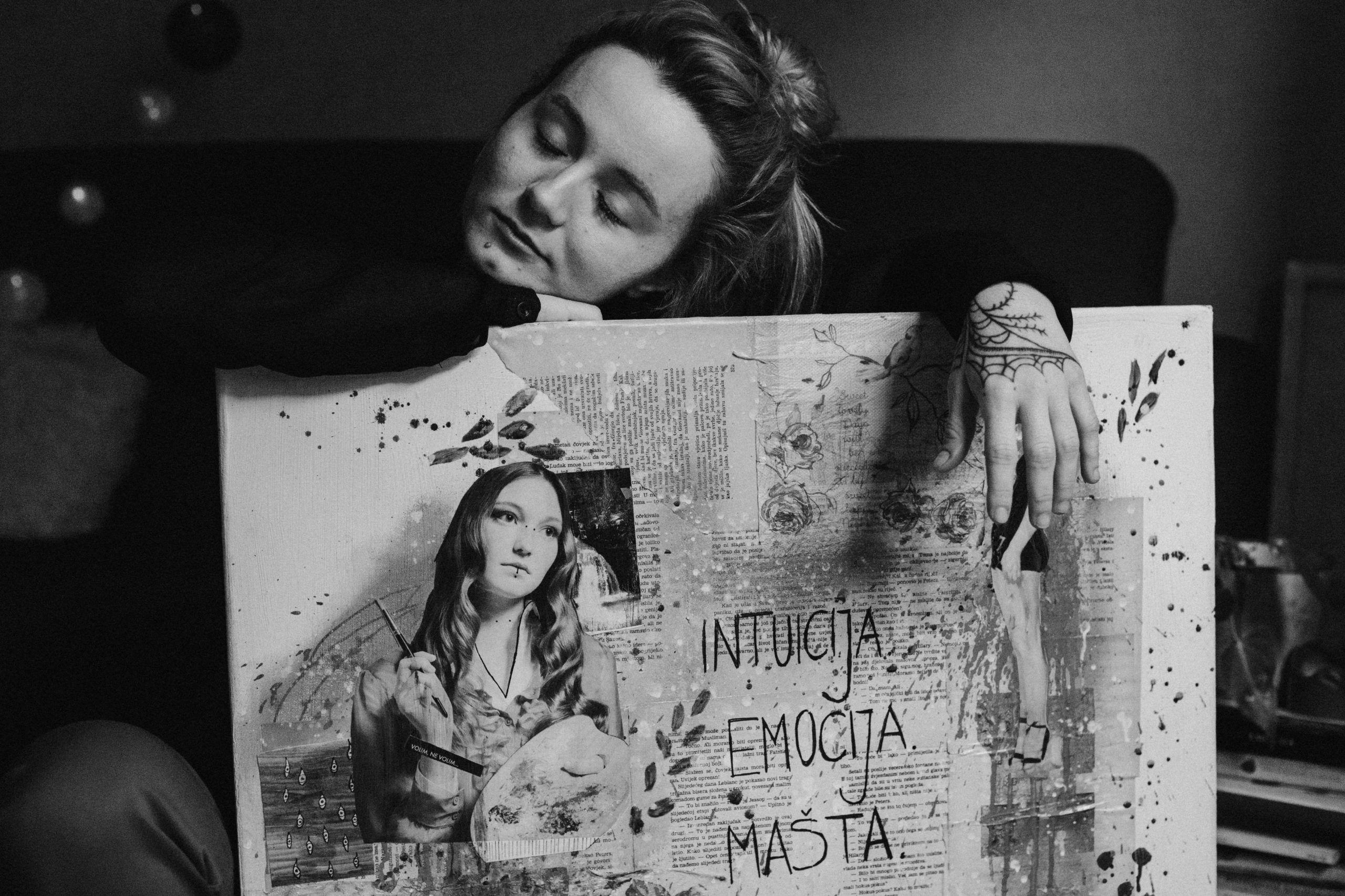 Antonella Šantek: Ulična umjetnica koja je osnovala udrugu za pomoć beskućnicima