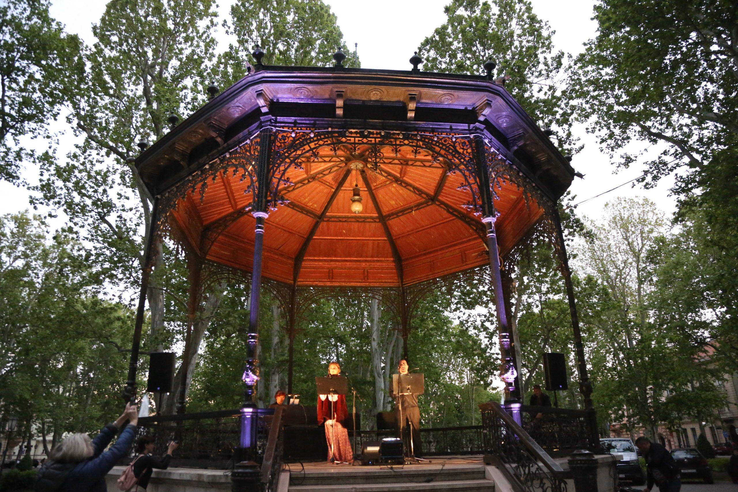 HNK u vašem kvartu: Održan prvi koncert na otvorenom