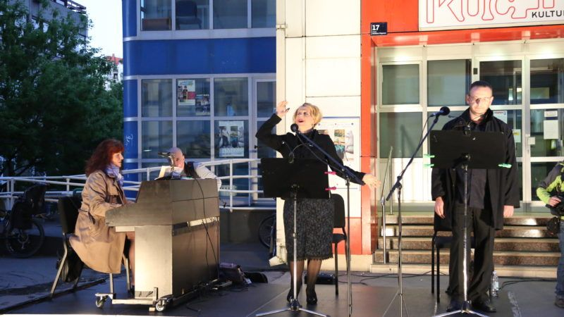 HNK u vašem kvartu: Drugi koncert u Travnom