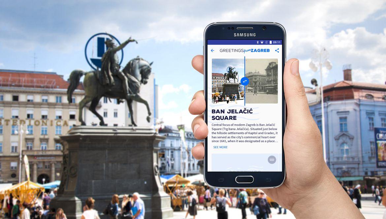 Prošetajte zagrebačkim ulicama i pošaljite rođendanski Pozdrav iz Zagreba