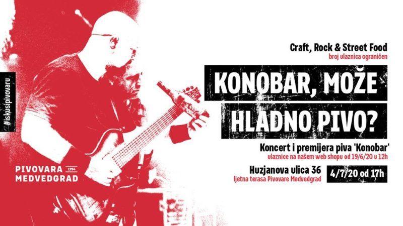 Ekskluzivan koncert Hladnog piva u dvorištu Pivovare Medvedgrad