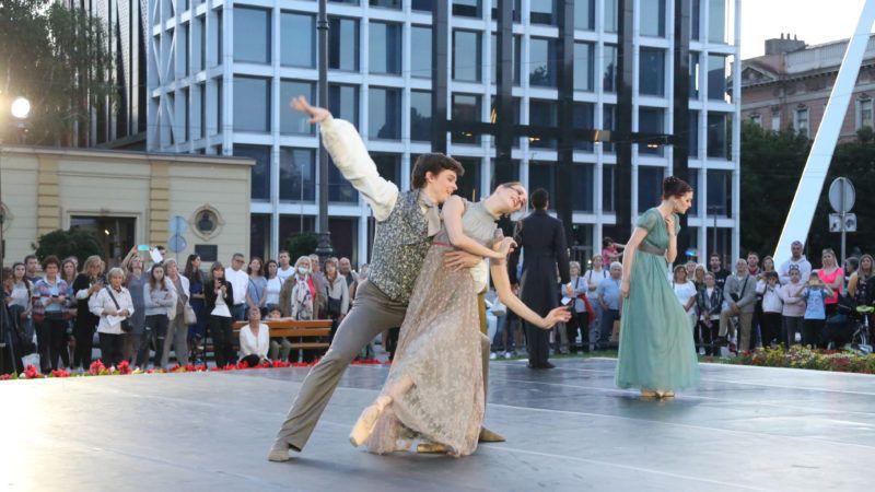 Balet u predvečerje: Uživajte u baletnim pokretima na tratini ispred HNK