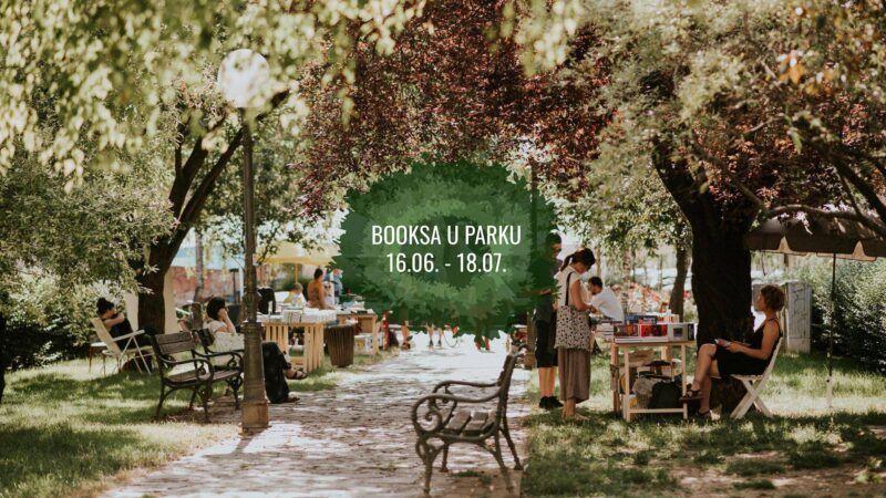Booksa u parku: Mjesec dana književnih razgovora, filmskih programa i koncerata
