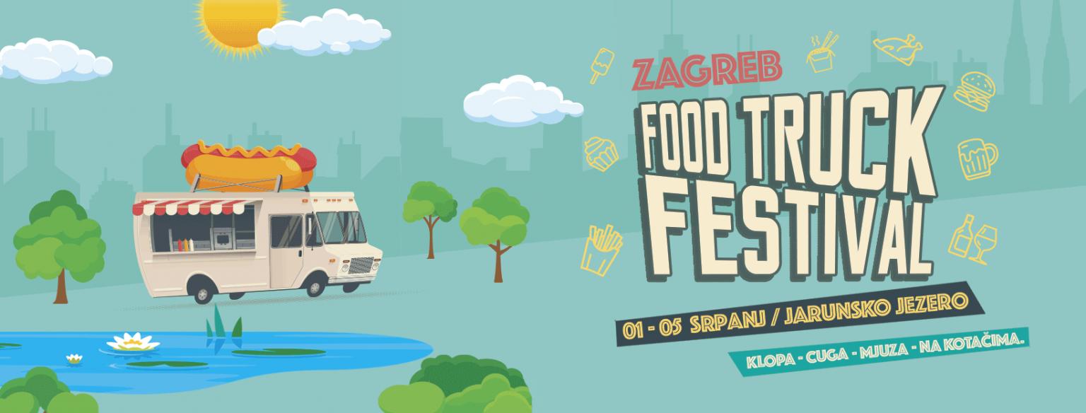 Prvi hrvatski Food Truck Festival dolazi na Jarun