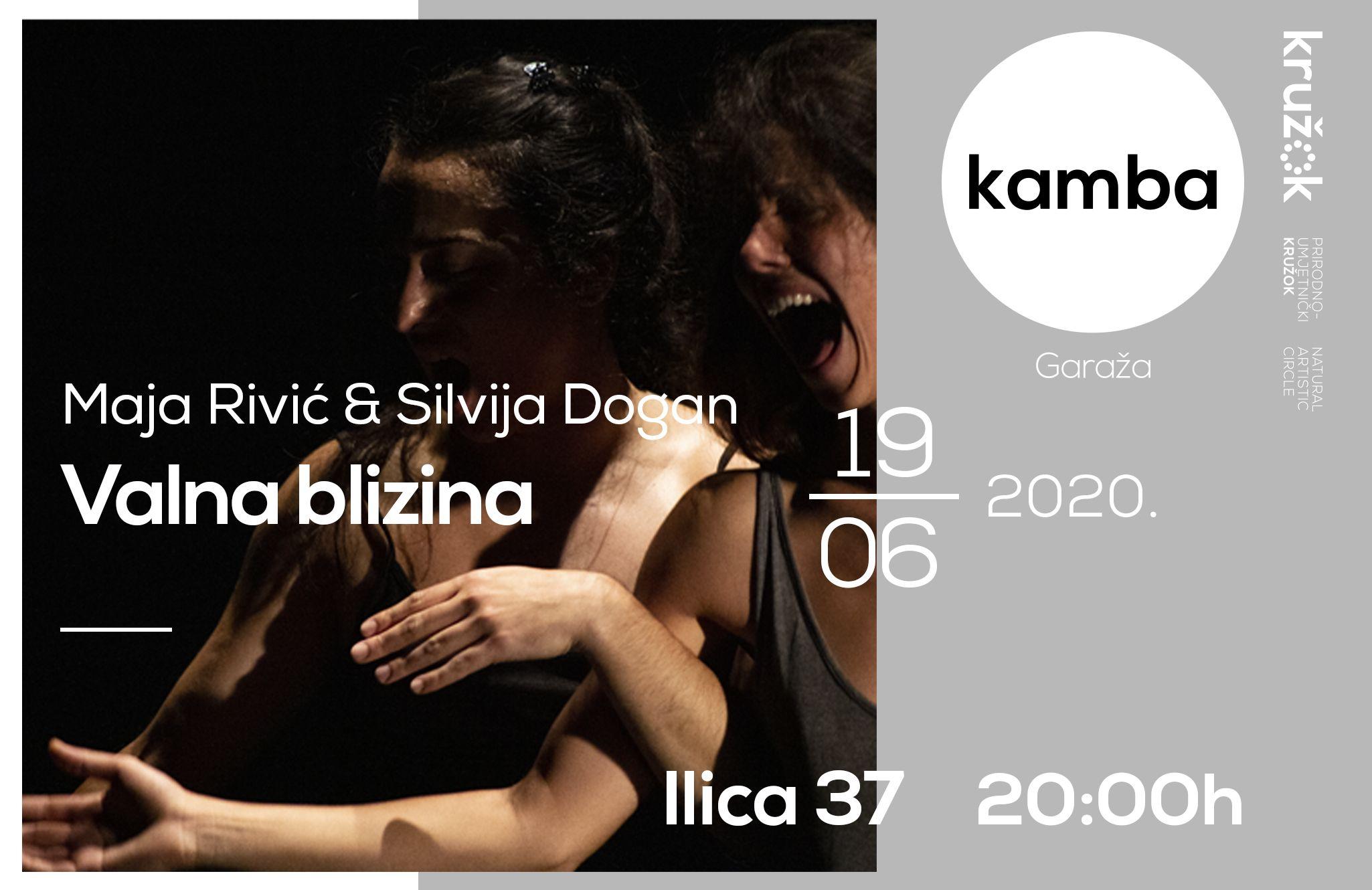 Silvija Dogan i Maja Rivić: Valna blizina u Garaži Kamba