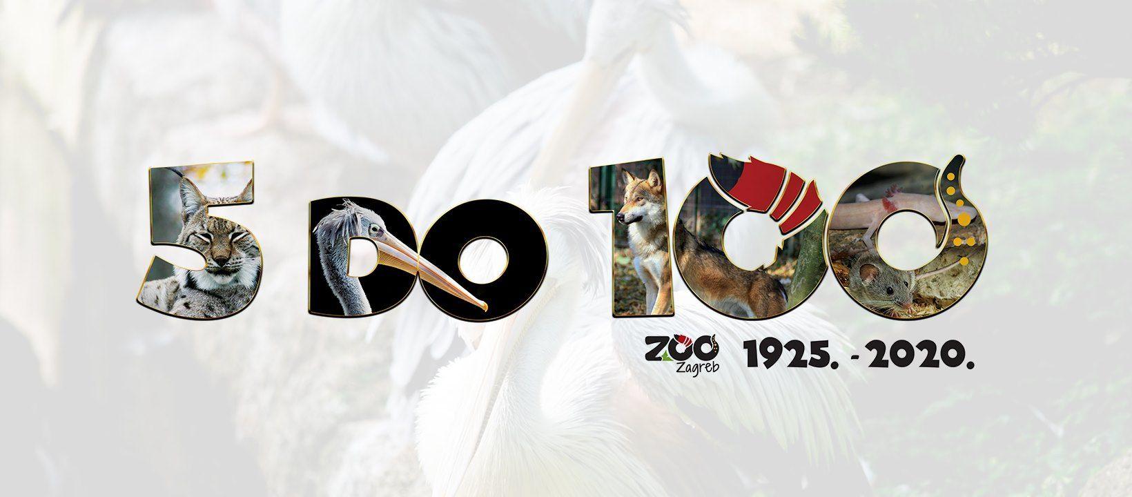 Proslava rođendana Zoološkog vrta grada Zagreba u znaku slogana '5 do 100'