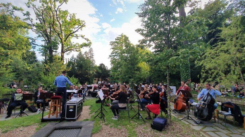 Ciklus koncerata Zagrebačke filharmonije na Labuđem otoku