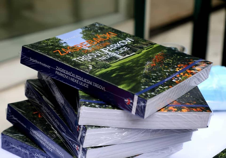 Na ljetnoj pozornici MUO predstavljena knjiga 'Zagrebački povijesni trgovi, parkovi i neke ulice'