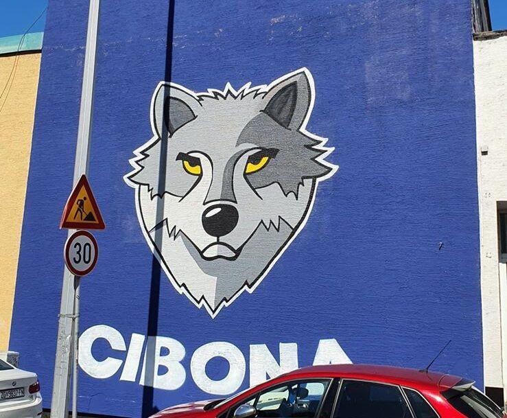 Poruka murala 'Mi smo Cibona': Još uvijek postoje ljudi kojima je stalo do Cibone