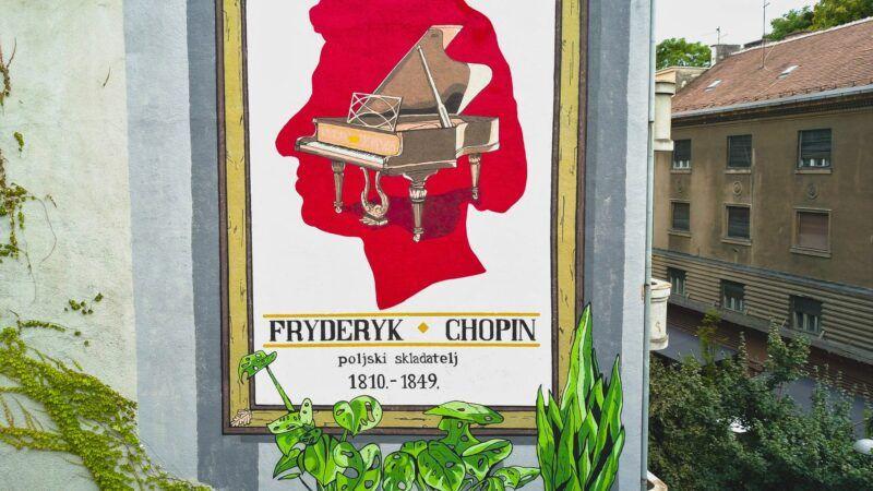 Mural u Dežmanovoj Chopinu u čast
