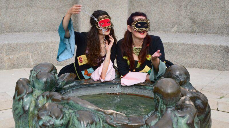 Šetnja s Kolumbinama: Predstava u pokretu i interaktivni razgled Zagreba