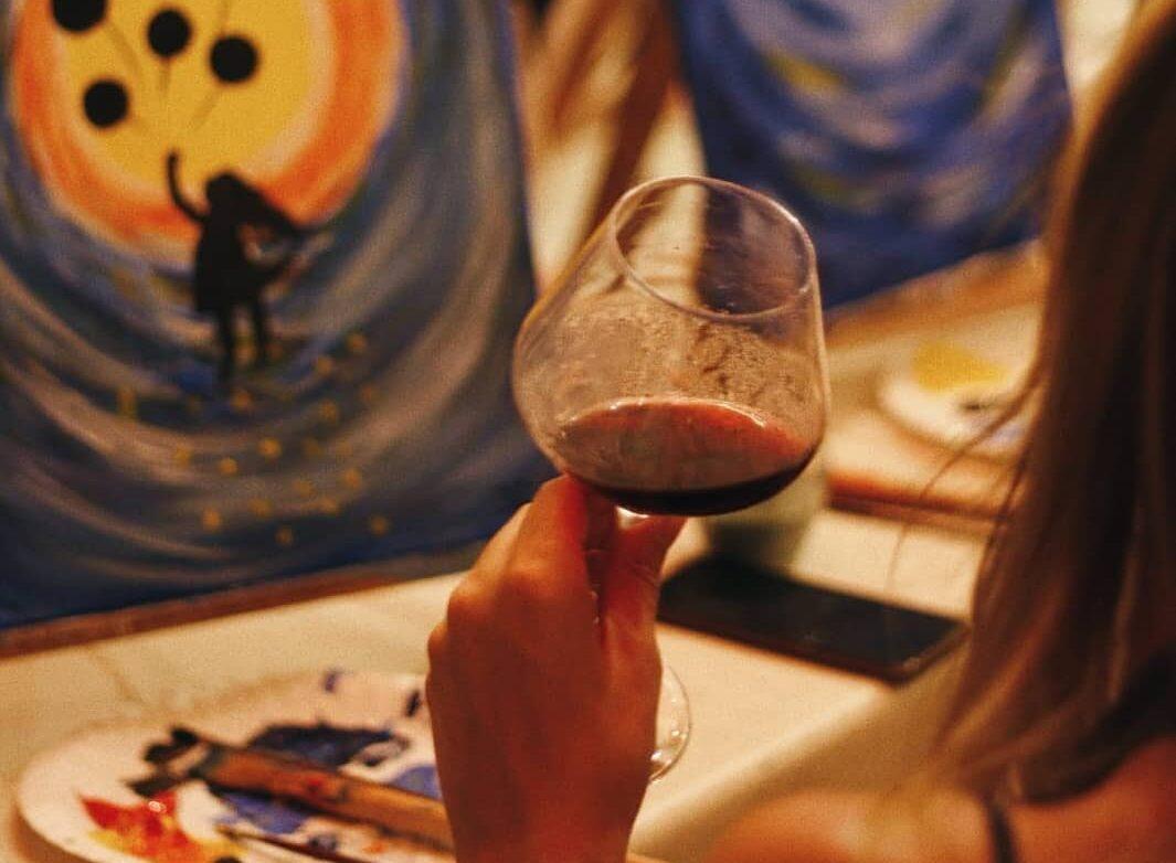 Pineli & Vino: Sutra će se u Palmotićevoj održati još jedna slikarska zabava