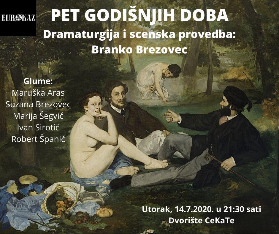 Predstava 'Pet godišnjih doba' u CeKaTe-u