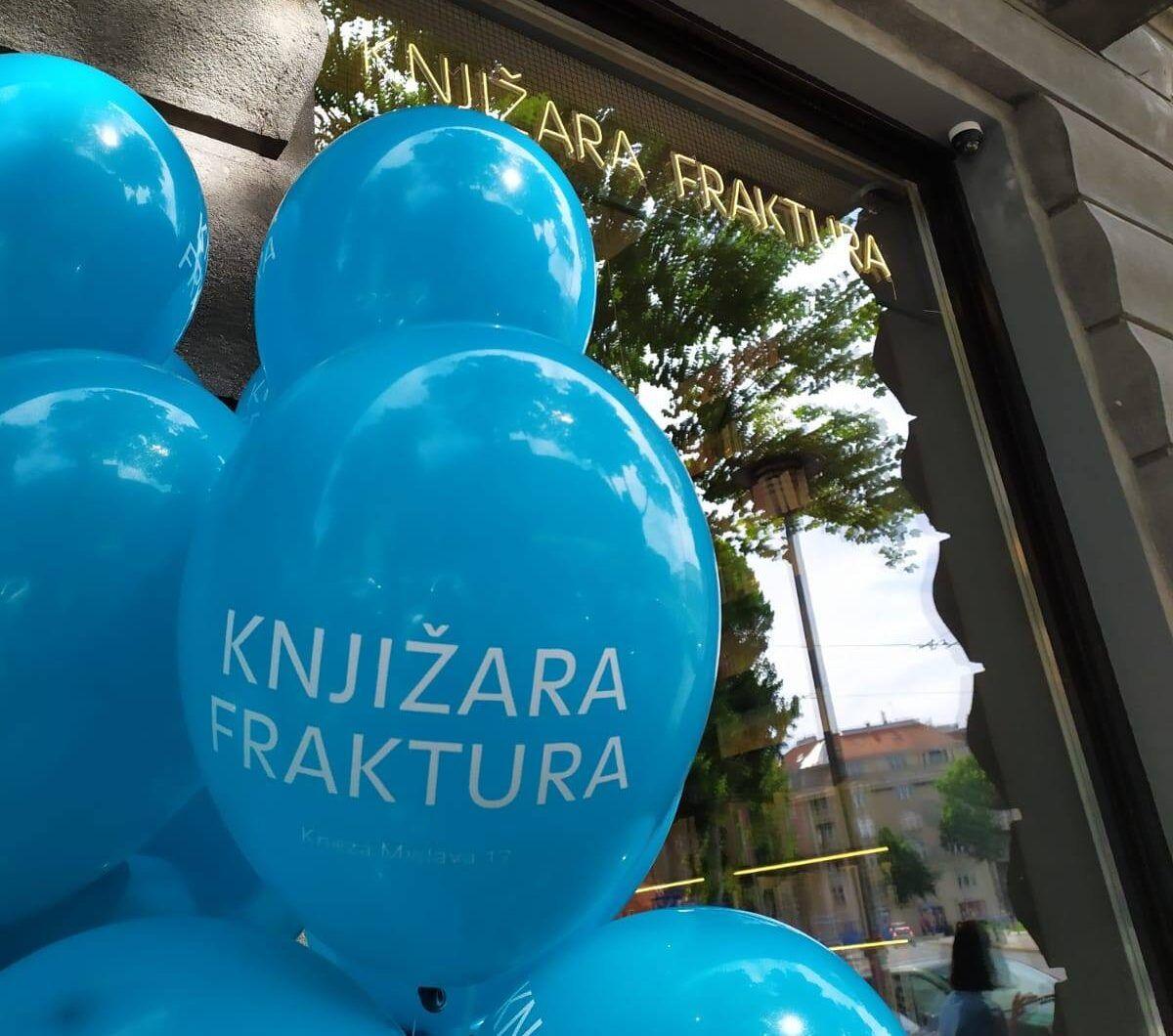 Fraktura je otvorila  knjižaru u širem centru Zagreba