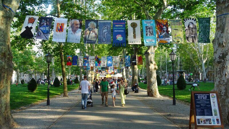 Čak 350 umjetničkih zastavica ukrasit će Zagreb u kolovozu