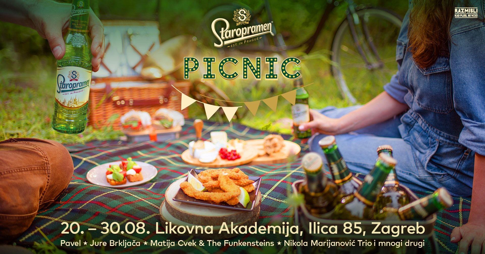 Matija Cvek, Vinko Ćemeraš, Pavel, Jure Brkljača i mnogi drugi čekaju vas na Staropramen pikniku