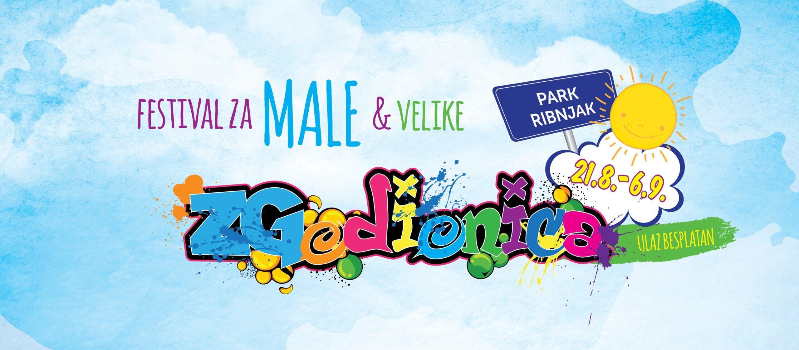 ZGodionica se vraća na Ribnjak: Hit dječji festival uskoro otvara svoja vrata