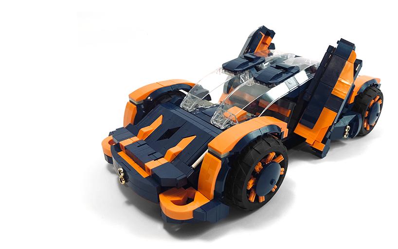 Zagrepčanin prijavio svoj koncept superautomobila na LEGO Ideas: Pomozimo mu da pobijedi