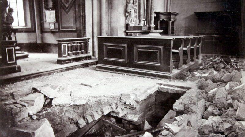 Veliki potres u Zagrebu dogodio se 9. studenog 1880. godine