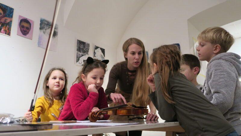 Jedinstveni glazbeno-likovni program za najmlađe u MSU