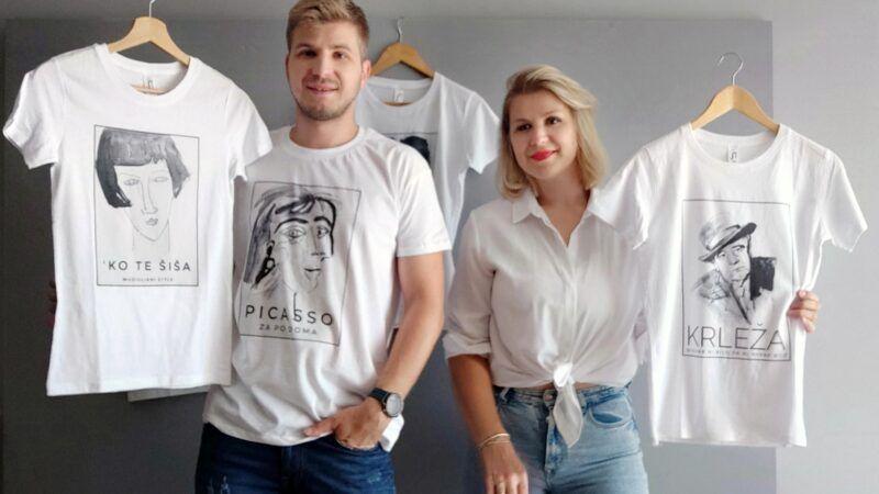 ART za po DOMA: Naše majice želimo vidjeti na onima koji nisu čitali lektire