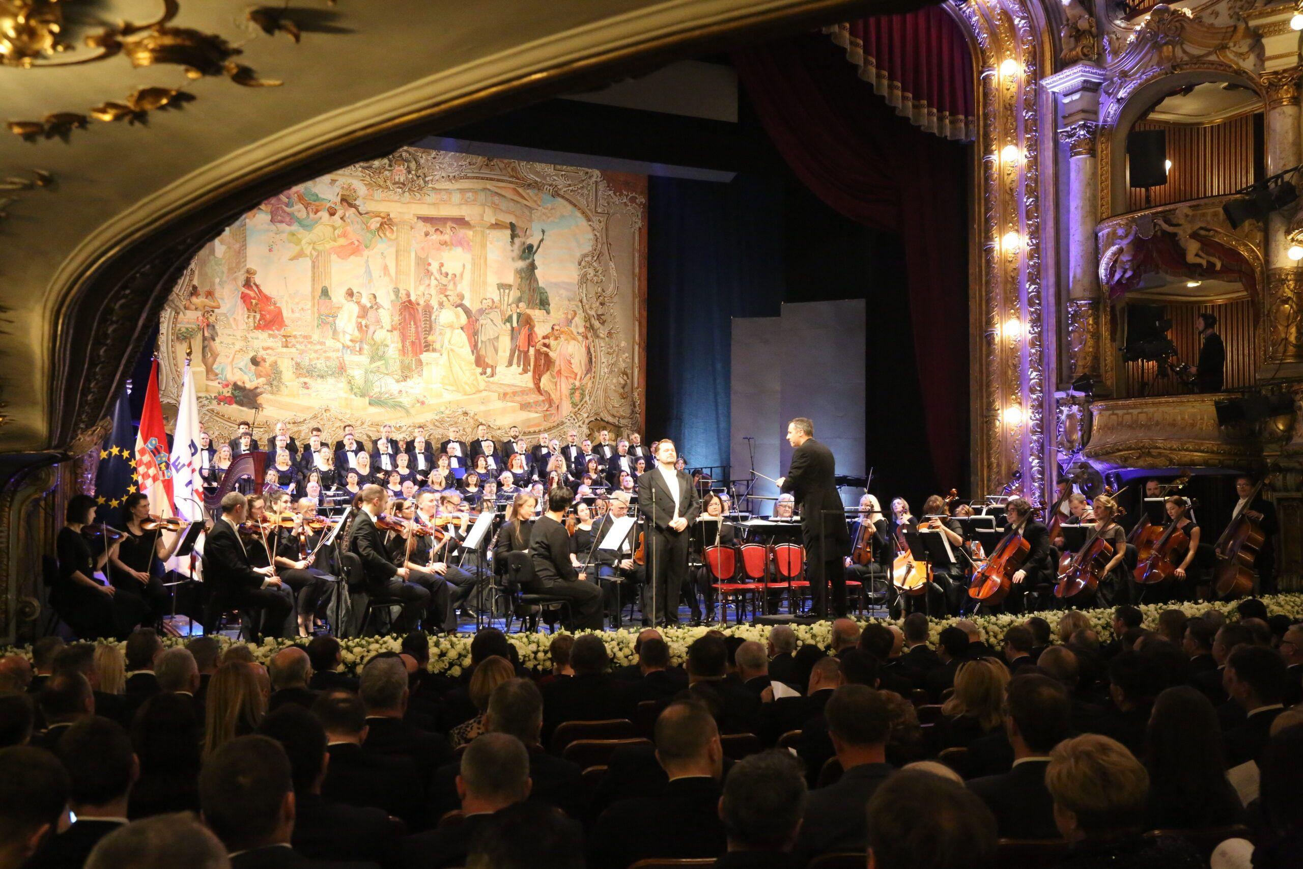 Gala koncert u povodu 150. godišnjice osnutka Opere HNK u Zagrebu