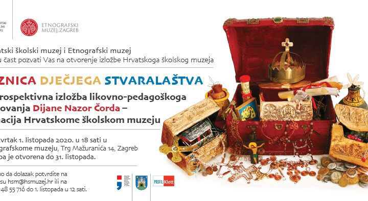 Retrospektivna izložba likovno-pedagoškoga djelovanja Dijane Nazor Čorda: Donacija Hrvatskome školskom muzeju