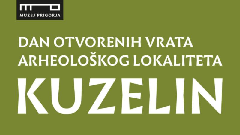 Muzej Prigorja: Dan otvorenih vrata arheološkog lokaliteta Kuzelin