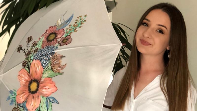 Mirna Deskar: Njezini unikatni kišobrani uljepšat će svaki kišni dan