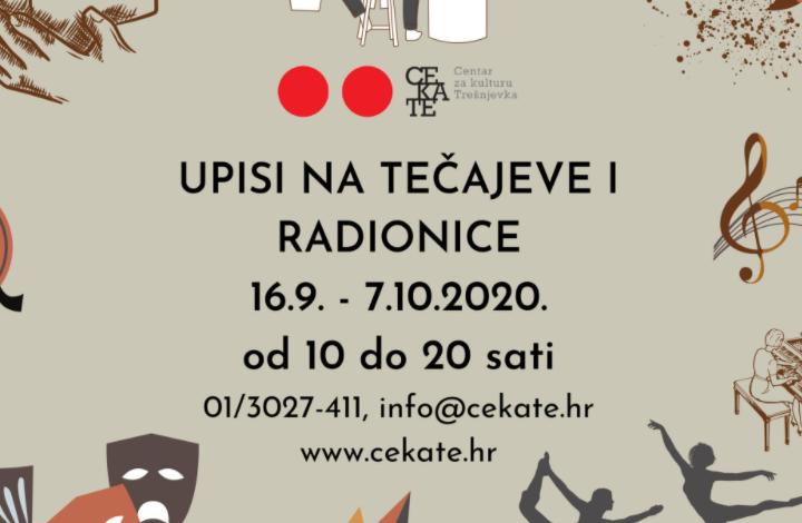 Centar za kulturu Trešnjevka organizira plesne, dramske, slikarske, književne, filmske i druge radionice