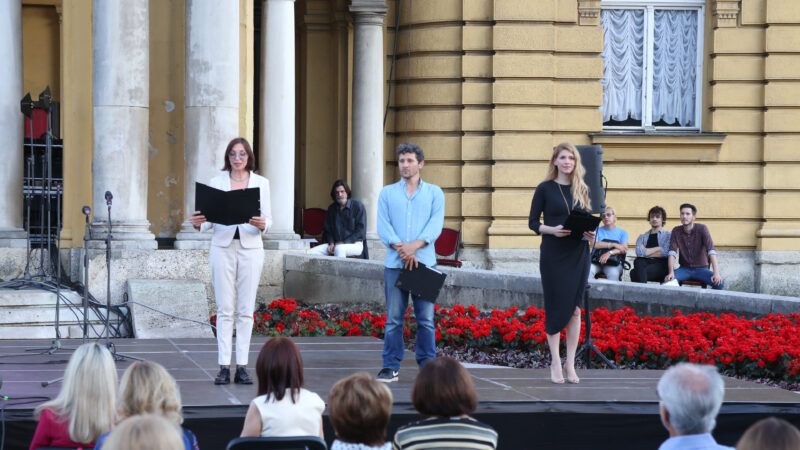 Dramski program 'Svjetlo u rujnu' u sklopu ciklusa Ljetne večeri HNK u Zagrebu