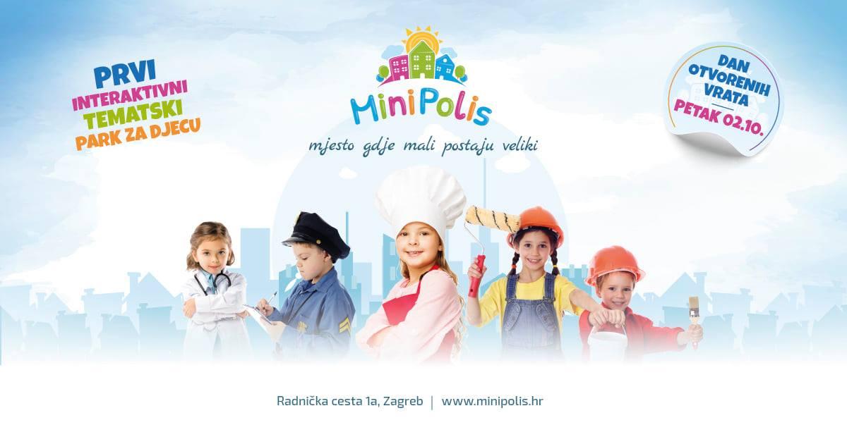 MiniPolis: Interaktivni edukativni tematski park za djecu do 12 godina