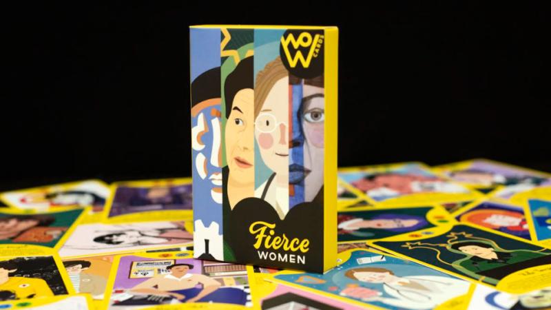 Kreirano prvo proširenje društvene igre Fierce Women: WoW Cards