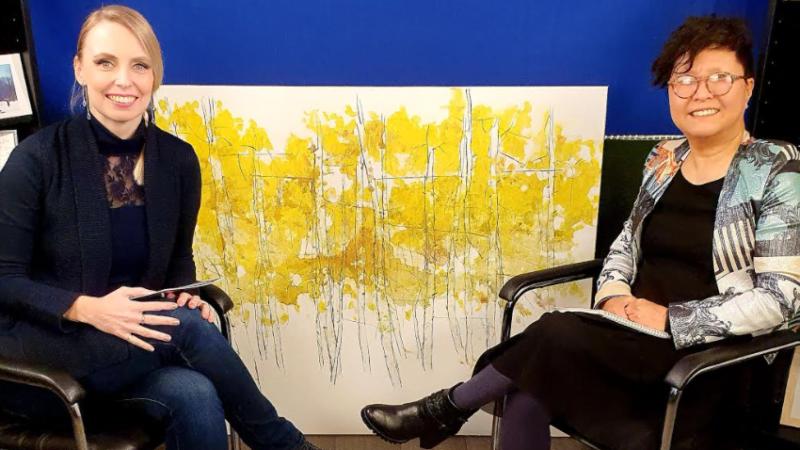 Ji Suk Baek autorica je edukativno-umjetničkog projekta kroz koji uči mlade naraštaje o važnoj ulozi umjetnika u svijetu