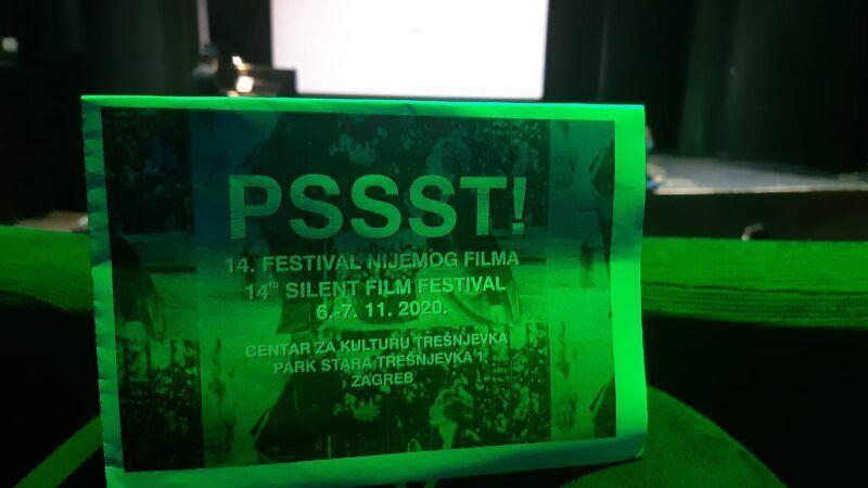 14. PSSST Festival nijemog filma počeo je sinoć u Centru za kulturu Trešnjevka