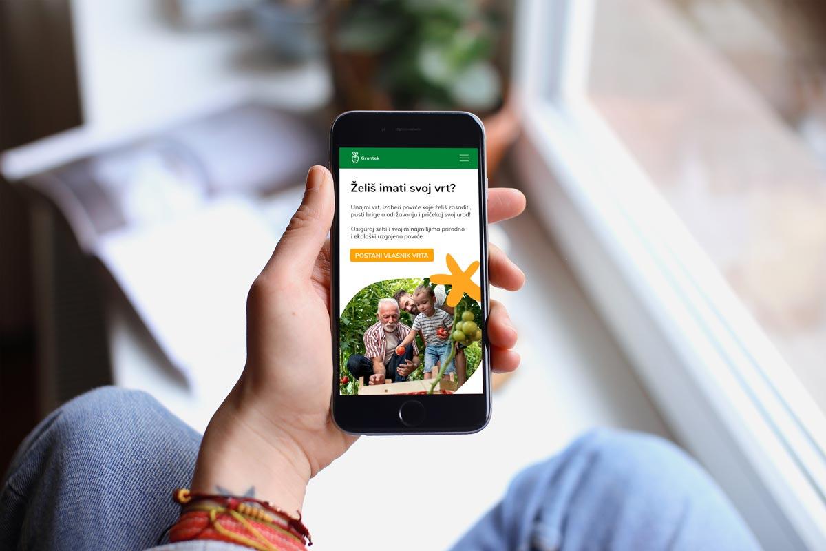 Aplikacija Gruntek: Naš je cilj užurbanim građanima Grada Zagreba prenijeti ljubav prema domaćem povrću, kao i znanje o ekološkom uzgoju