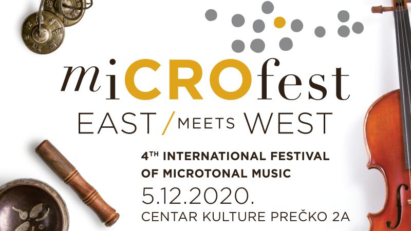 miCROfest 2020 – 4. Međunarodni festival mikrotonalne glazbe u Društvenom domu Prečko