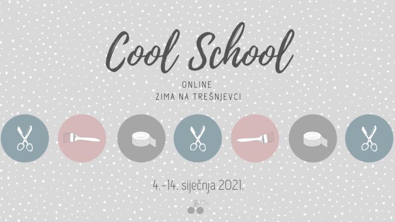 Cool School Zima na Trešnjevci: Online radionice za djecu i mlade