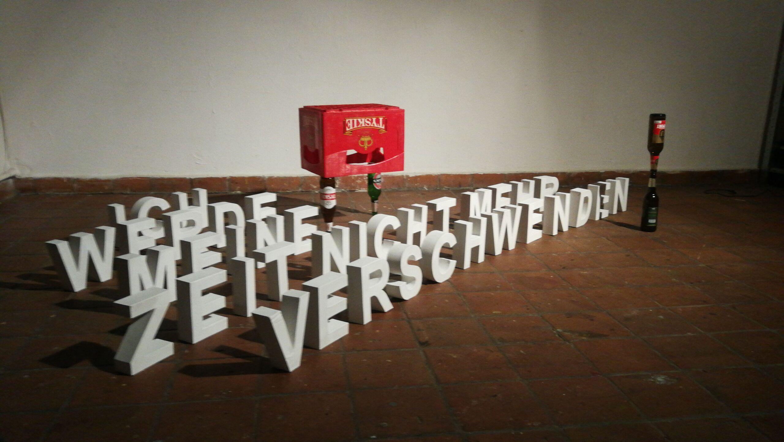 Izložba 'Prije početka, nakon završetka ručka' umjetnika Vojina Hraste u Galeriji SC