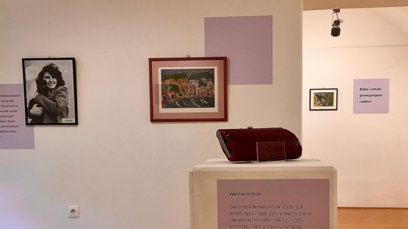 Izložba 'Balade Vesne Parun' postavljena u Muzeju Prigorja u Sesvetama
