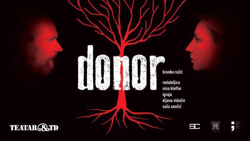 Zadnje ovogodišnje izvedbe 'Donora' u Teatru &TD