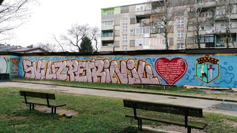 Uz nas niste sami: U Zagrebu osvanuo novi mural za Petrinju
