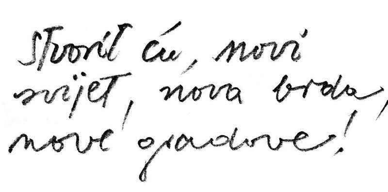 'Stvorit ću novi svijet, nova brda, nove gradove' bila je misao akademika Kožarića, rođenog Petrinjca