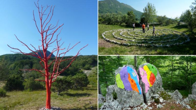 Prva virtualna izložba land art umjetnika Borisa Pecigoša