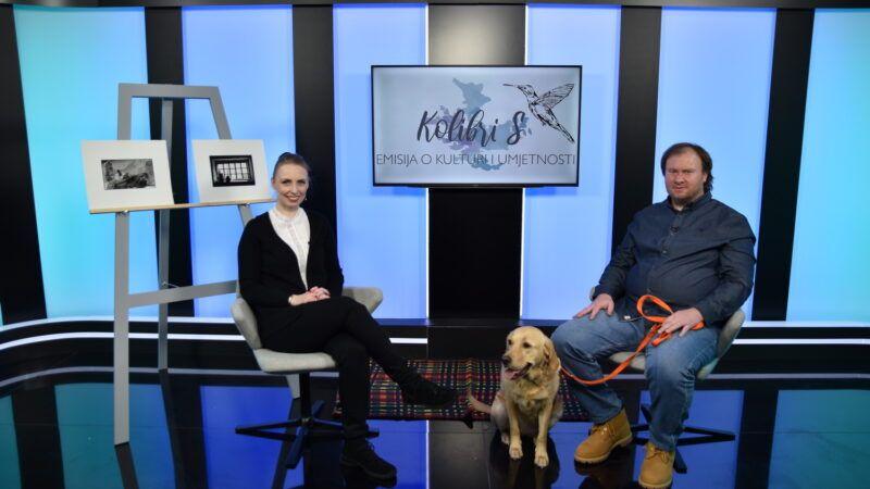 Sergije Michieli novi je gost prve emisije KolibriS u novom studiju