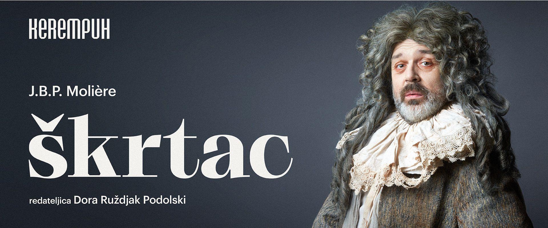 Premijera predstave 'Škrtac' J.B.P. Molièrea u Kerempuhu
