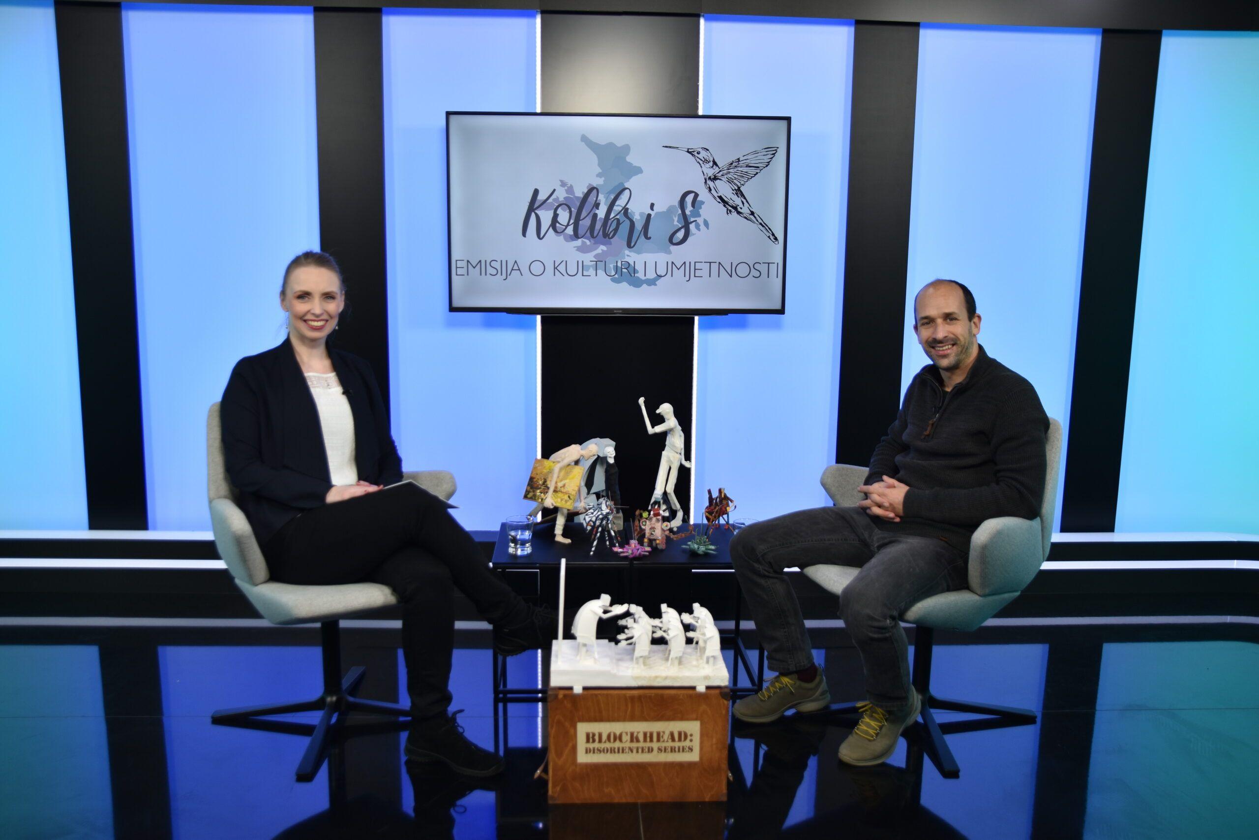 Jedan od 15 najboljih papertoys umjetnika na svijetu Marko Zubak novi je gost emisije KolibriS